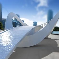 Download free STL file Bridge • Design to 3D print, sammy3