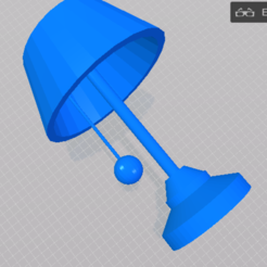 Download free 3D printer files Bedroom Lamp, sammy3