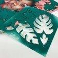 Download free 3D printing templates 3D Printed Stencils, sammy3