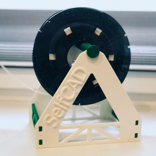 Download free 3D printing files Filament Holder, sammy3