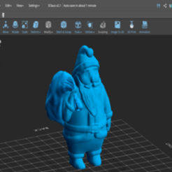 card_preview_Santa_Carrying - Copy.png Download free STL file Santa Claus • Object to 3D print, sammy3