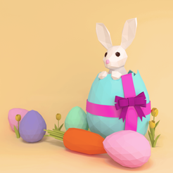 Download free 3D print files Easter Bunny, sammy3