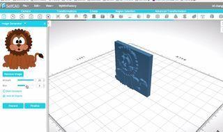 F1H3YY4J8AGOE9C.SMALL.jpg Télécharger fichier STL gratuit Prêt à imprimer le modèle d'un lion • Plan pour impression 3D, sammy3