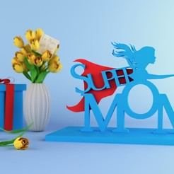 Download free STL file Inspiration 3D Model Showcase: Mother's Day • Template to 3D print, sammy3