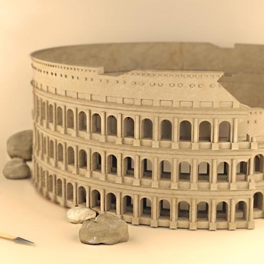 Télécharger fichier STL gratuit Colosseum_Rome • Objet pour impression 3D, sammy3