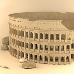 Download free 3D printing templates Colosseum_Rome, sammy3