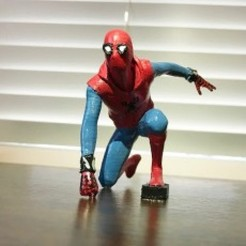 Download free 3D printer designs Spiderman, sammy3