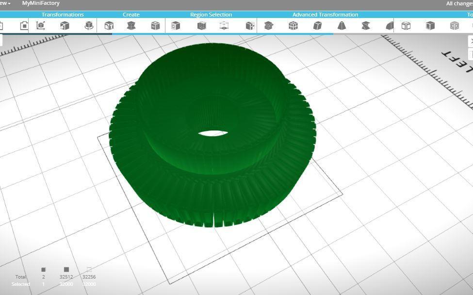 Capture.JPG Download free STL file Spiral Nut • 3D printing model, sammy3