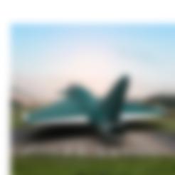 Télécharger fichier STL gratuit Eurofighter Typhoon • Design pour imprimante 3D, sammy3
