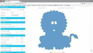 FPRXXDJJ8AGOEER.SMALL.jpg Télécharger fichier STL gratuit Prêt à imprimer le modèle d'un lion • Plan pour impression 3D, sammy3
