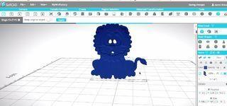 FYSD0SMJ8AGP5CJ.SMALL.jpg Télécharger fichier STL gratuit Prêt à imprimer le modèle d'un lion • Plan pour impression 3D, sammy3