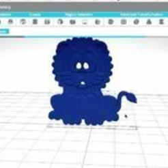 Free Ready to Print Model of a Lion 3D printer file, sammy3