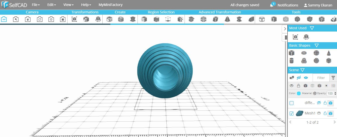 s2.png Download free STL file Spiral Vase • 3D print template, sammy3