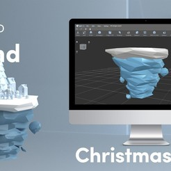 Download free 3D printer designs Low Poly Island, sammy3