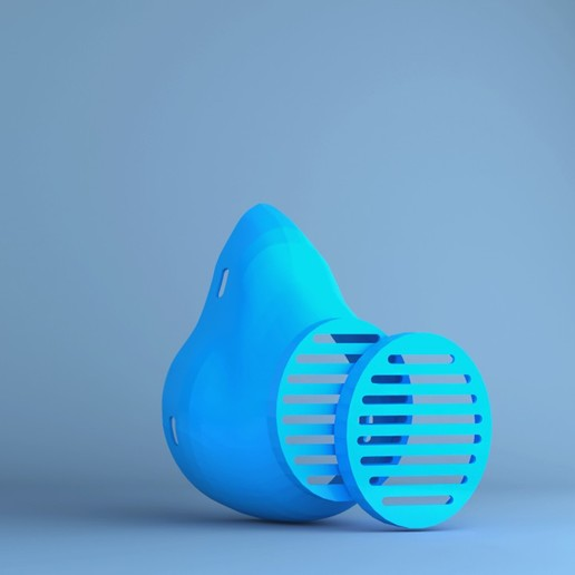 CORONA MASK.jpg Télécharger fichier STL gratuit Masque contre les coronavirus • Design imprimable en 3D, sammy3