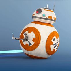 Download free STL file  Star Wars BB-8 • 3D printing template, sammy3