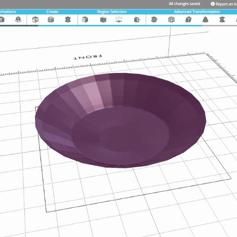 Capture.PNG Télécharger fichier STL gratuit assiette • Modèle imprimable en 3D, sammy3