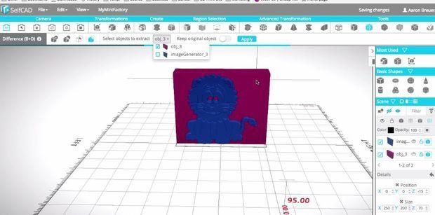 FVB5Q2EJ8AGOE9N.MEDIUM.jpg Télécharger fichier STL gratuit Prêt à imprimer le modèle d'un lion • Plan pour impression 3D, sammy3