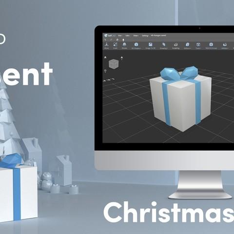 Télécharger fichier STL gratuit Faible Poly Presents • Plan à imprimer en 3D, sammy3