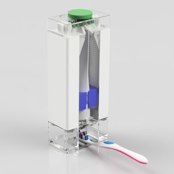 Free 3d model Toothpaste Dispenser, Anthony_SA