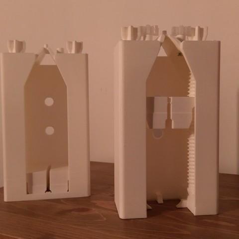 IMAG3061.jpg Download free STL file Toothpaste Dispenser • 3D print model, Anthony_SA