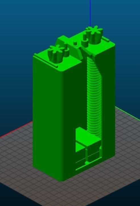 Base.JPG Download free STL file Toothpaste Dispenser • 3D print model, Anthony_SA