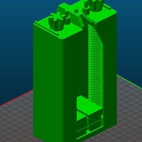 Base.JPG Télécharger fichier STL gratuit Distributeur à dentifrice • Design imprimable en 3D, Anthony_SA