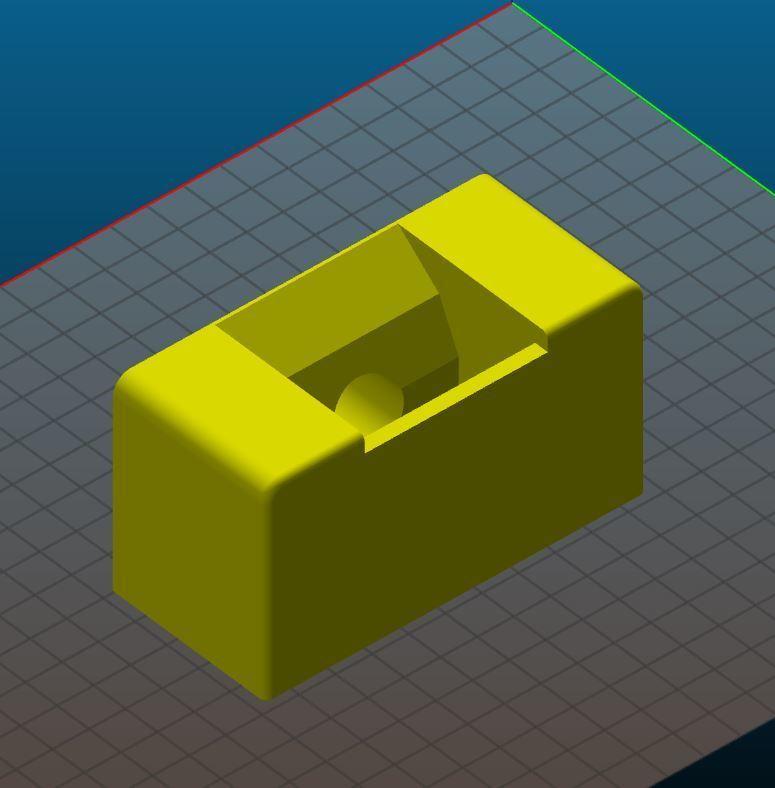 Bottom part.JPG Télécharger fichier STL gratuit Distributeur à dentifrice • Design imprimable en 3D, Anthony_SA