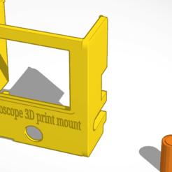 Download free STL file Endoscope mount for XYZ Printer ver. 1 • 3D print design, Norm202