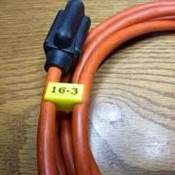 Download free STL file 120 v 16-3 cord holder ver 2 • 3D printer model, Norm202