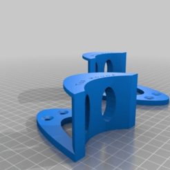 Download free STL file Headphone holder top or bottom mount • Template to 3D print, Norm202