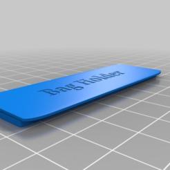 Download free STL file Bag holder for car • 3D printing object, Norm202