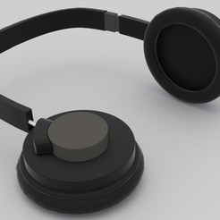 Free headphones STL file, mahmed195