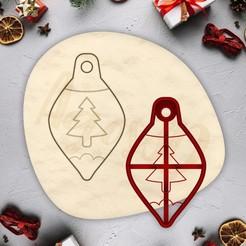 5.jpg Download free STL file Christmas ornament cookie - CHRISTMAS - christmas cookie cutter - xmas party cookie cutter - house / corta fondant masa y arcilla - 10cm • 3D print template, Agos3D