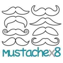es.jpg Télécharger fichier STL PACK 8 moustaches - coupe-fête des pères, gentleman - formel - mariage - barbe - fondant et coupe-pâte à biscuits - 8 à 10 cm • Design pour impression 3D, Agos3D