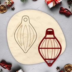 2.jpg Télécharger fichier STL gratuit Biscuit de décoration de Noël - NOËL - moule à biscuit de Noël - moule à biscuit pour la fête de Noël - maison / corta fondant masa y arcilla - 11cm • Modèle pour impression 3D, Agos3D