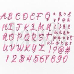 Staps.jpg Télécharger fichier STL cachet de lettre - coupe-biscuit de l'alphabet italien - lettre majuscule - lettres de petits nombres avec variations - avec variations ! 1,5 à 2,5 cm • Objet à imprimer en 3D, Agos3D