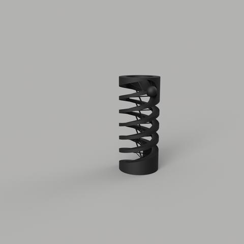 Hélice Bille.png Download free STL file Ball in a propeller Competition # 3DSPIRIT Edouard SCIE Yannick BONNOT • 3D print design, EdouardYannick