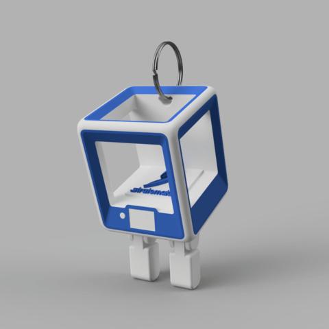 StratoBot2.png Download free STL file StratoBot Stratomaker Simplifier • 3D printable model, Skaternine