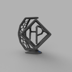 Anamorphose.PNG Download free STL file HP Fusion Multi Jet Fidget • 3D printing object, Skaternine