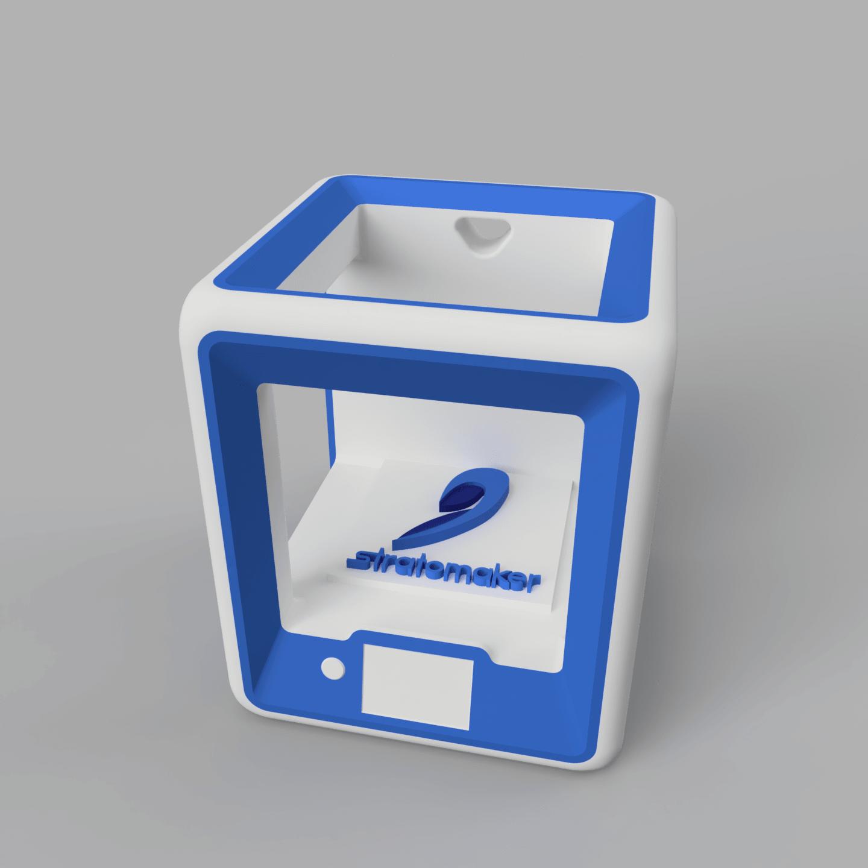 StratoBot3.png Download free STL file StratoBot Stratomaker Simplifier • 3D printable model, Skaternine