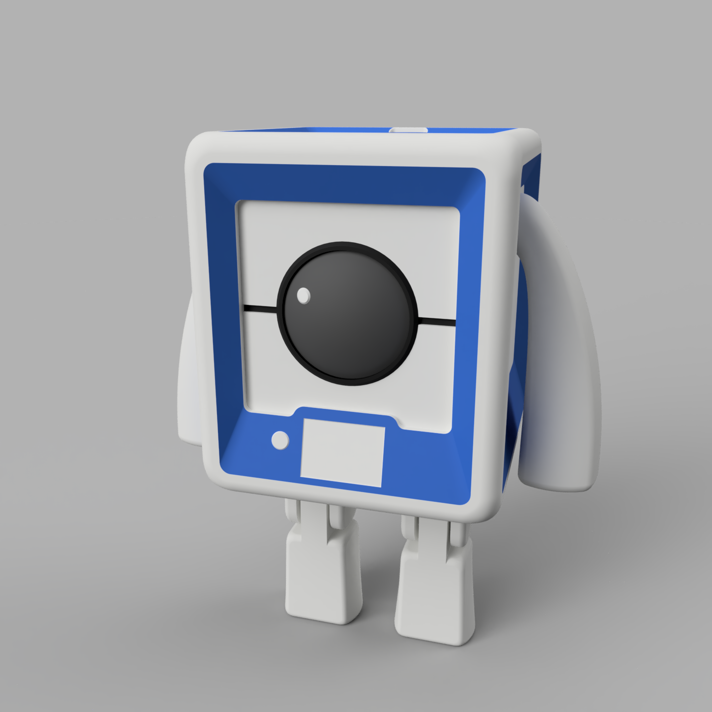 StratoBot2_Debout.png Download free STL file StratoBot Stratomaker • 3D printing design, Skaternine