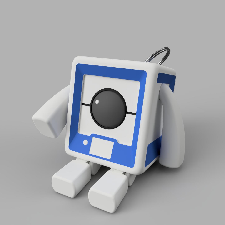 StratoBot2_Assis.png Download free STL file StratoBot Stratomaker • 3D printing design, Skaternine