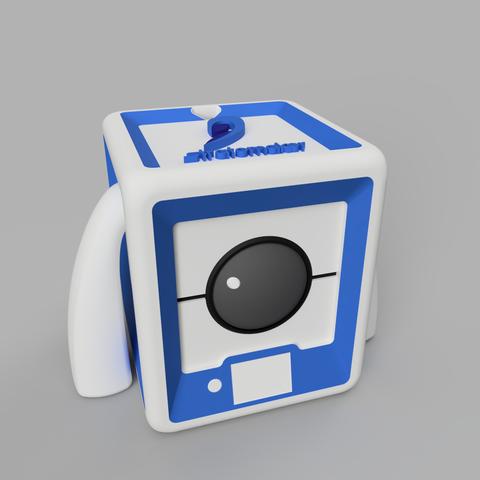 StratoBot2_2.png Download free STL file StratoBot Stratomaker • 3D printing design, Skaternine