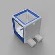 Download free 3D printer templates StratoBot Stratomaker Simplifier, Skaternine