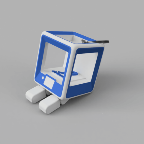 Free StratoBot Stratomaker Simplifier STL file, Skaternine
