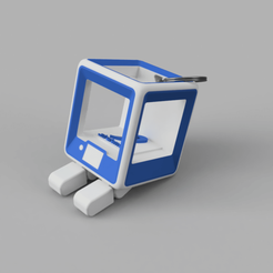 StratoBot.png Download free STL file StratoBot Stratomaker Simplifier • 3D printable model, Skaternine