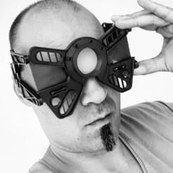 gobotoru3d_103445733_268554121035356_5917125700184699593_n.jpg Télécharger fichier STL Cyberpunk themed goggles • Modèle imprimable en 3D, gobotoru