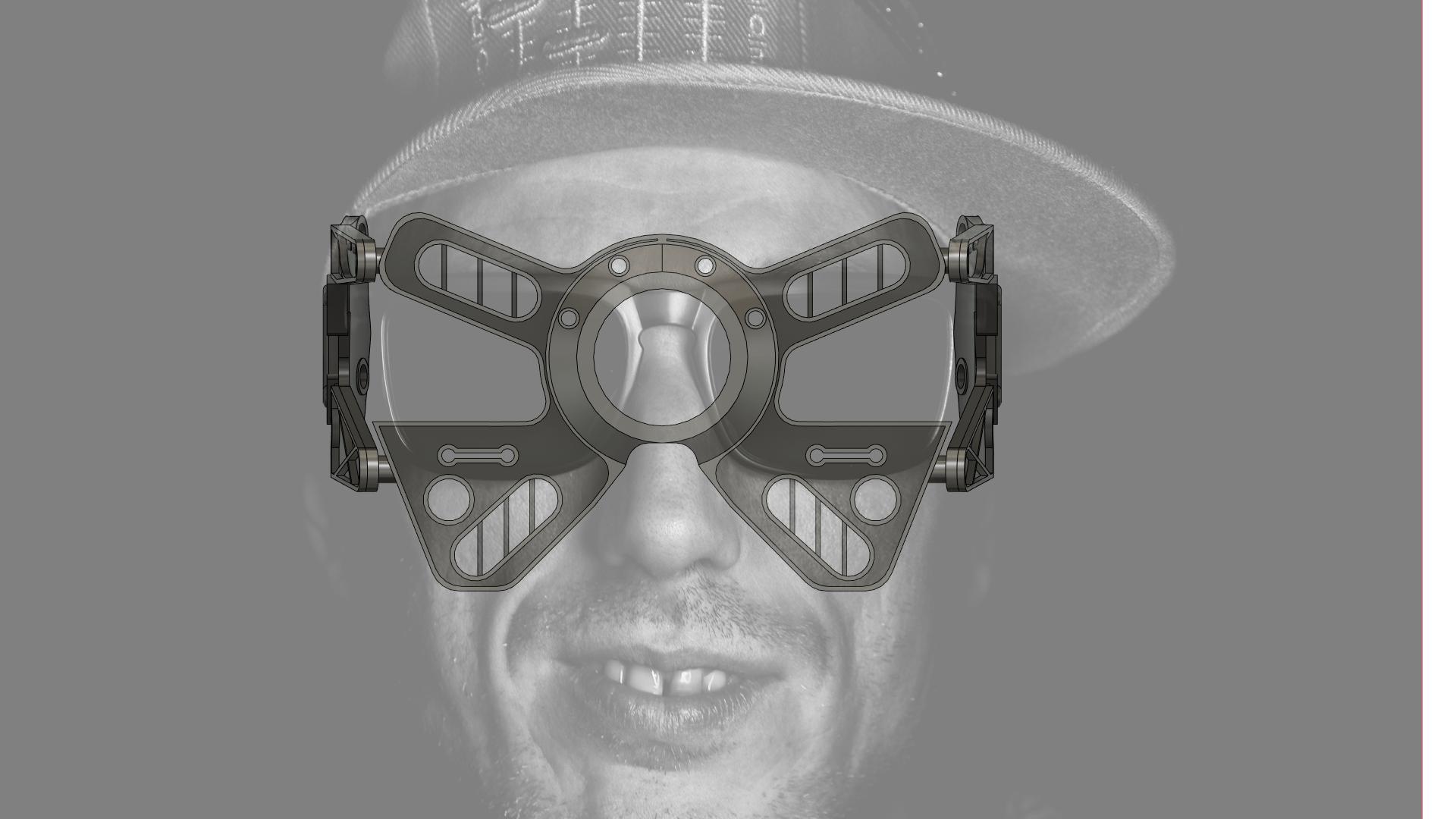 lentes v12.png Download STL file Cyberpunk themed goggles • 3D printer design, gobotoru