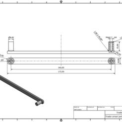 Download free 3D printer files Wardrobe handle, Juntosporlaimpresion3D